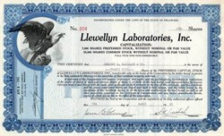 Llewellyn Laboratories, Inc. - 1941