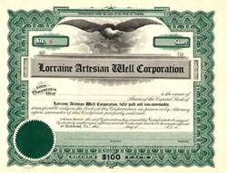 Lorraine Artesian Well Corporation - Richmond, Virginia