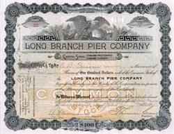 Long Branch Pier Company - Long Branch, New Jersey 1894