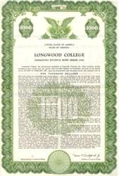Longwood College - Farmville, Virginia 1958