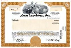 Longs Drug Stores, Inc. SPECIMEN - California 1977