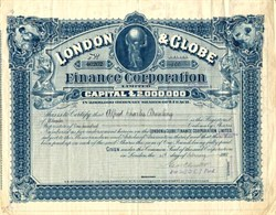 London & Globe Finance Corporation - England 1901