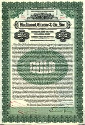 Lockwood, Greene & Co., Inc  Gold Bond- Massachusetts 1923