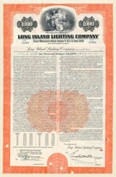 Long Island Lighting Company Bond 1953