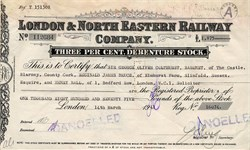 London & North Eastern Railway Company ( Issued during WWII) - United Kingdom 1941