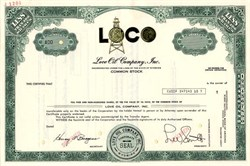 Love Oil Company, Inc. (LOCO) - Wyoming