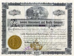 Lorelei Amusement and Realty Company 1914