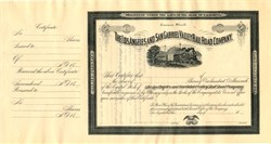 Los Angeles and San Gabriel Valley Rail Road Company - California 18__