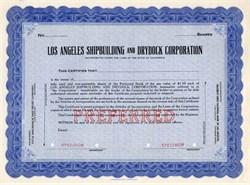 Los Angeles Shipbuilding and Drydock Corporation