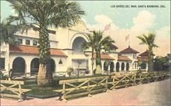 Los Bandos Del Mar, Santa Barbara Cal. Postcard