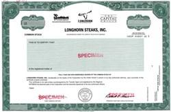 Longhorn Steaks, Inc. - Georgia
