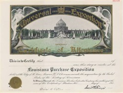 Universal Exposition - Louisiana Purchase Exposition St. Louis 1904