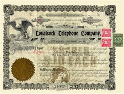 Loyalsock Telephone Company 1912