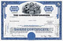 Lubrizol Corporation ( Now owned by Berkshire Hathaway - David Sokol, Scandal ) - Ohio 1971