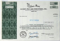Lucien Piccard Industries, Inc. (Luxury Watch Company) - New York