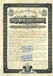 Luce Monroe Savings & Investment Company - Fort Smith,  Arkansas 1893