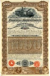 Marietta and North Georgia Railway Company - Georgia 1887
