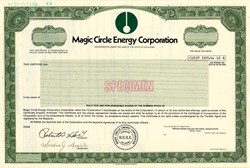 Magic Circle Energy Corporation - Oklahoma 1982