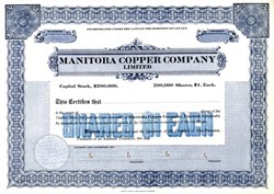 Manitoba Copper Company Limited - Canada