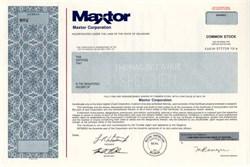 Maxtor Corporation, Delaware ( hard disk drive manafacturer )