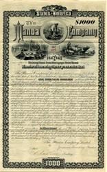 Manoa Company, Limited - Guyana  and New York - 1885