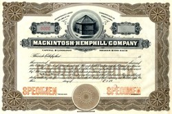 Mackintosh-Hemphill Company - Pittsburgh,  Pennsylvania - 1920