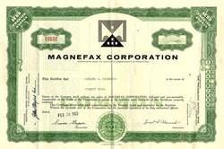 Magnefax Corporation - Pennsylvania 1963