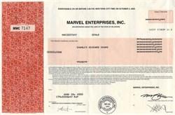 Marvel Enterprises, Inc. ( Famous Comic Book Publisher including Spiderman )