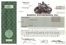 Marvel Enterprises, Inc.(Acquired by Disney) - Delaware 2001