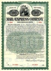 Mail and Express Company - New York 1911