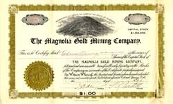 Magnolia Gold Mining Company - Cripple Creek , Colorado - 1899