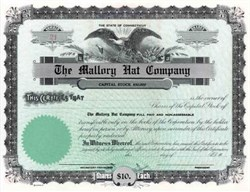 Mallory Hat Company  ( Acquired by Stetson )