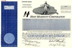 Host Marriott Corporation