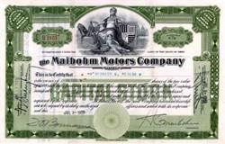 Maibohm Motors Company 1920
