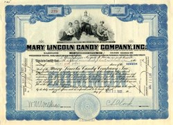 Mary Lincoln Candy Company , Inc. - Delaware 1921