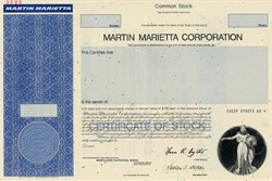 Martin Marietta Corporation (Now Lockheed Martin)  - Maryland