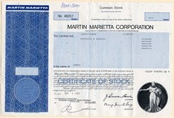 Martin Marietta Corporation - Maryland 1981