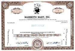 Mammoth Mart, Inc. (Elephant vignette) - Maine 1959