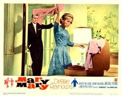 Mary Mary Lobby Card Starring Debbie Reynolds - 1963