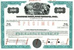 Marine Midland Banks, Inc. - 1973