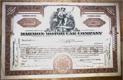 Marmon Motor Car Company - Indiana 1931