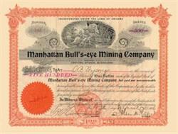 Manhattan Bull's Eye Mining Company 1906