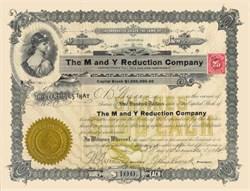 M and Y Reduction Company 1914 - Arizona