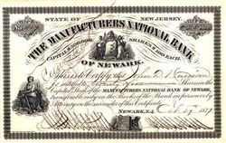 Manufacturers National Bank 1877