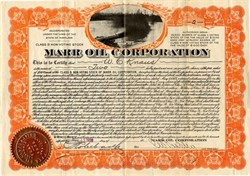 Marr Oil Corporation - Maryland 1928