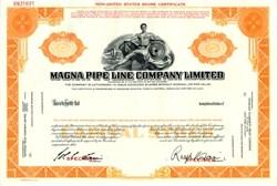 Magna Pipe Line Company Limited - British Columbia, Canada