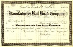 Manufacturer's Rail Road Company - Harrisburg, Pennsylvania
