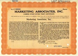 Marketing Associates, Inc.