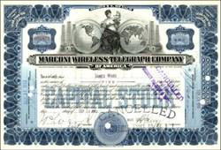 Marconi Wireless Telegraph Company 1914