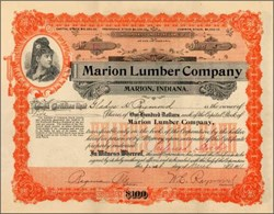 Marion Lumber Company 1908 - 1911